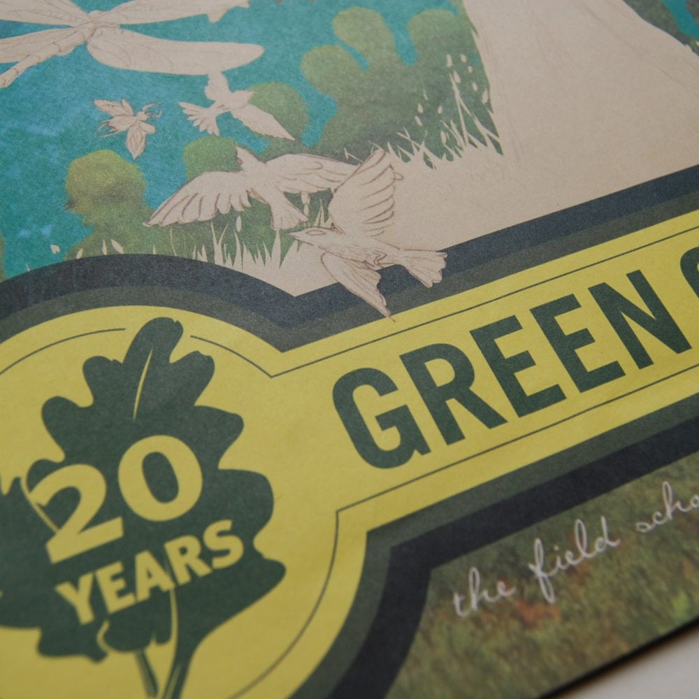 Green Corps: 20th Anniversary Campaign