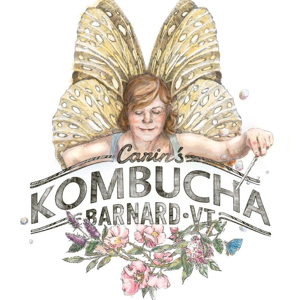 Carin's Kombucha: branding a craft brew company